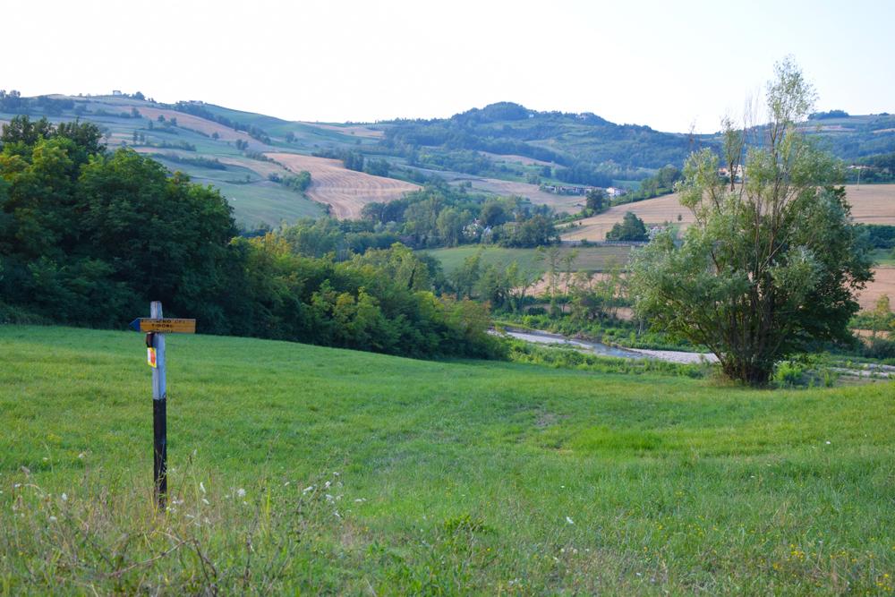 La Val Tidone - Sentiero del Tidone