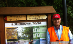 Sentiero del Tidone completato trekking mtb